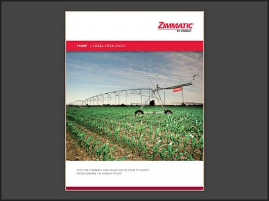 Zimmatic 7500P Brochure