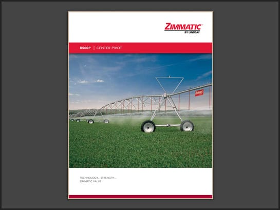Zimmatic 8500P Brochure