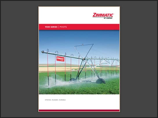 Zimmatic 9500P Brochure