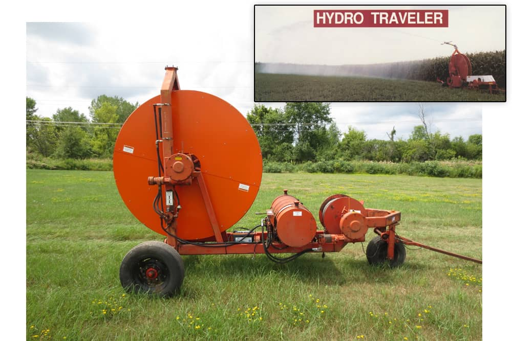 Hydro Engineering Traveling Gun