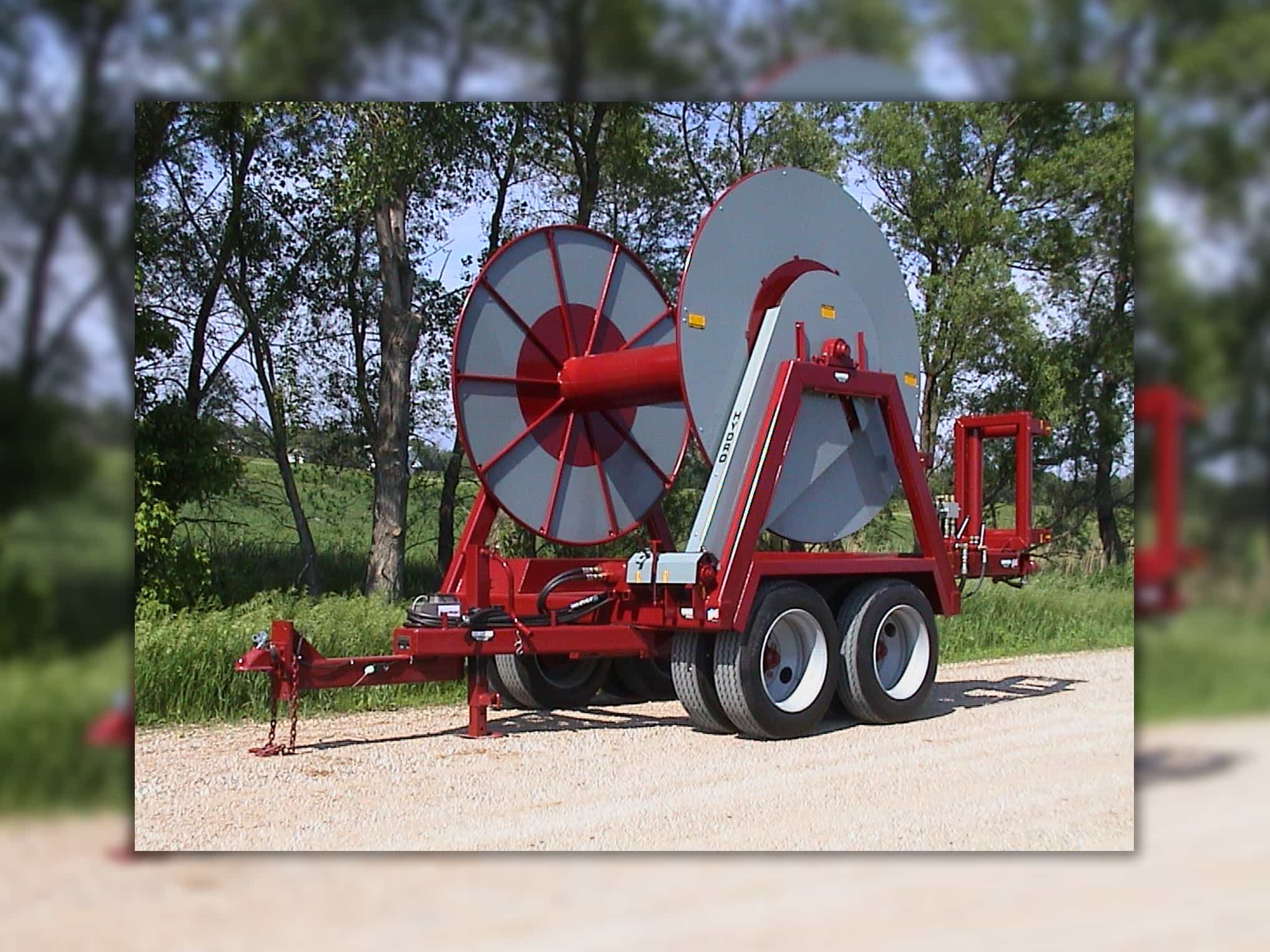 Hydro Engineering Layflat Hose Reels