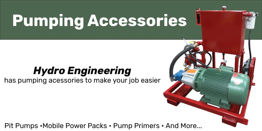 Hydro Engineering Portable Electric Over Hydraulic Pack