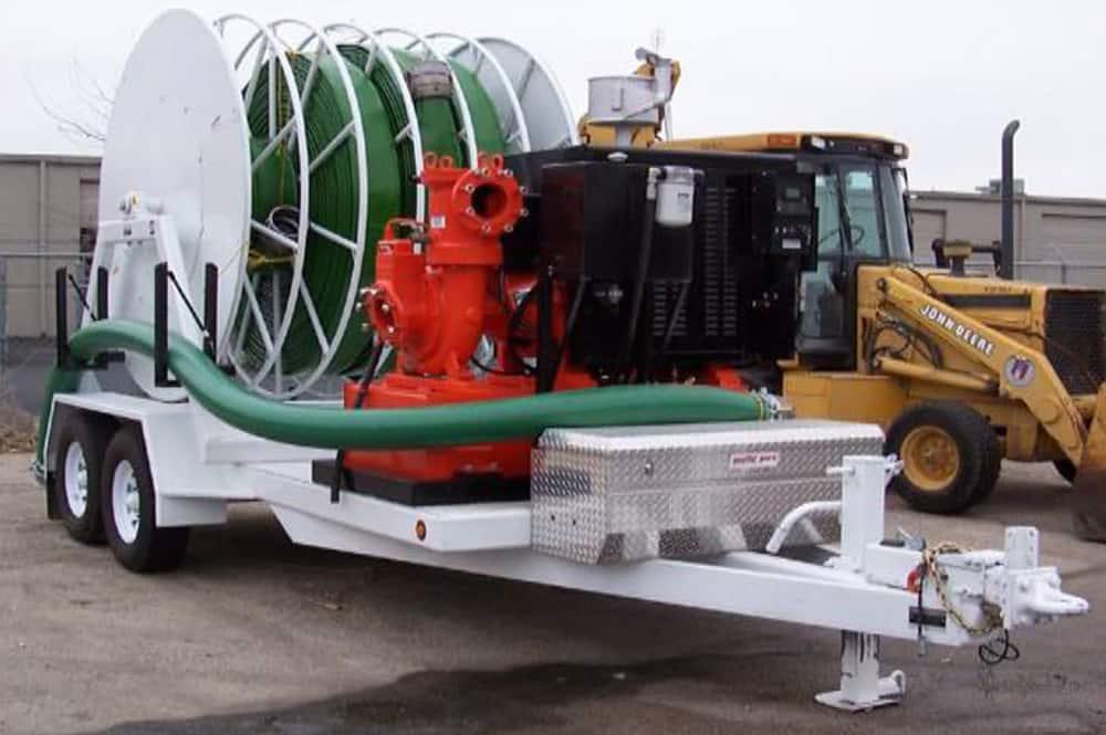 Hydro Engineering Layflat Hose Reels