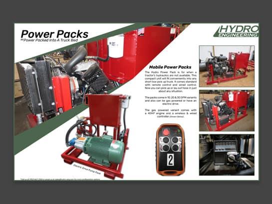 Hydro Engineering Mobile Power Packs