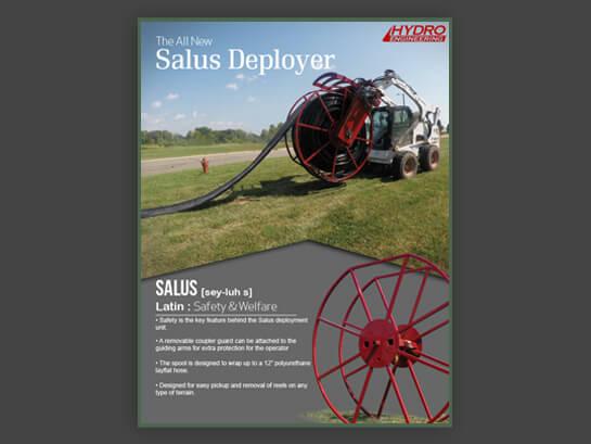 Hydro Engineering Salus Layflat Hose Deployer
