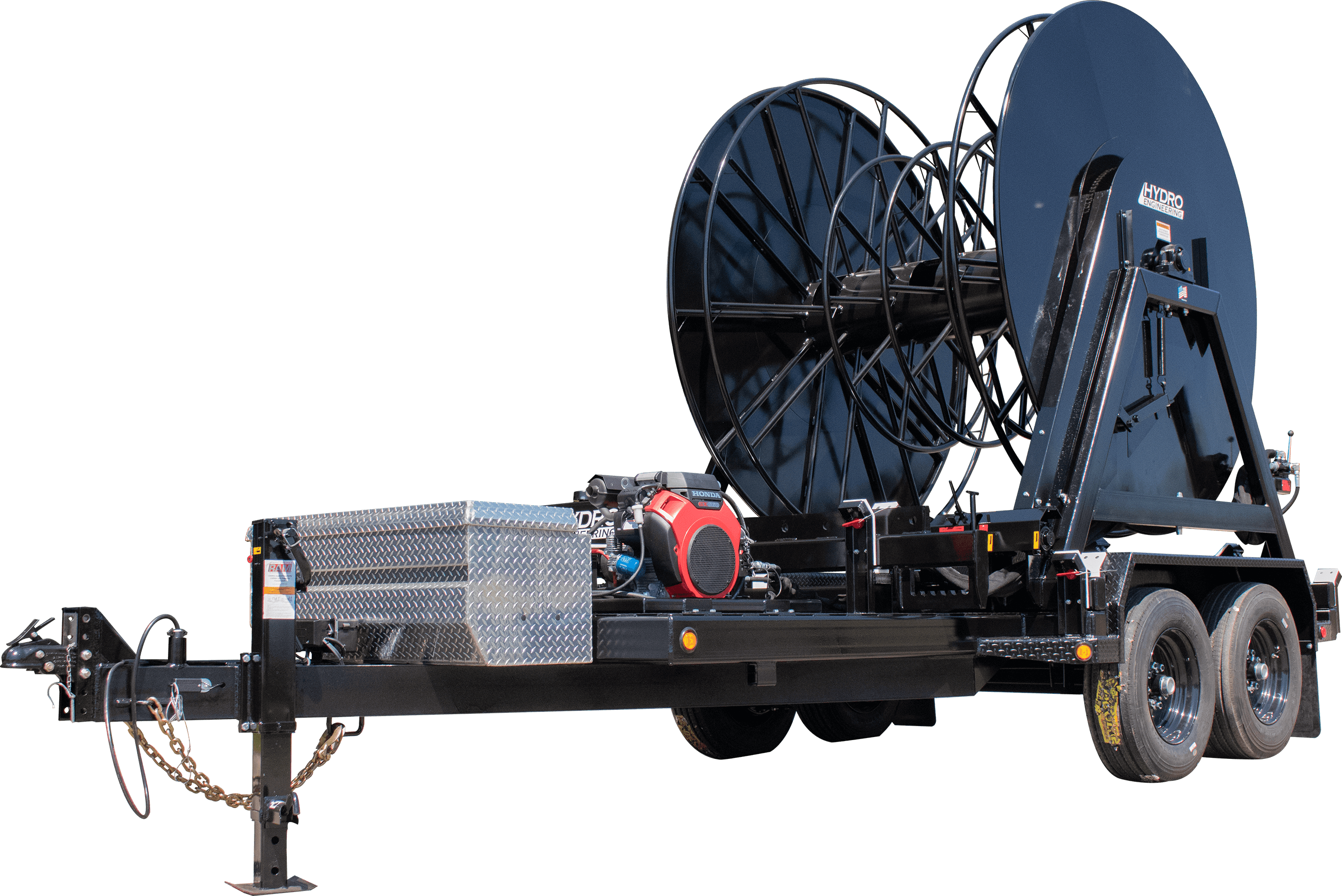 Hydro Engineering Layflat Hose Reel