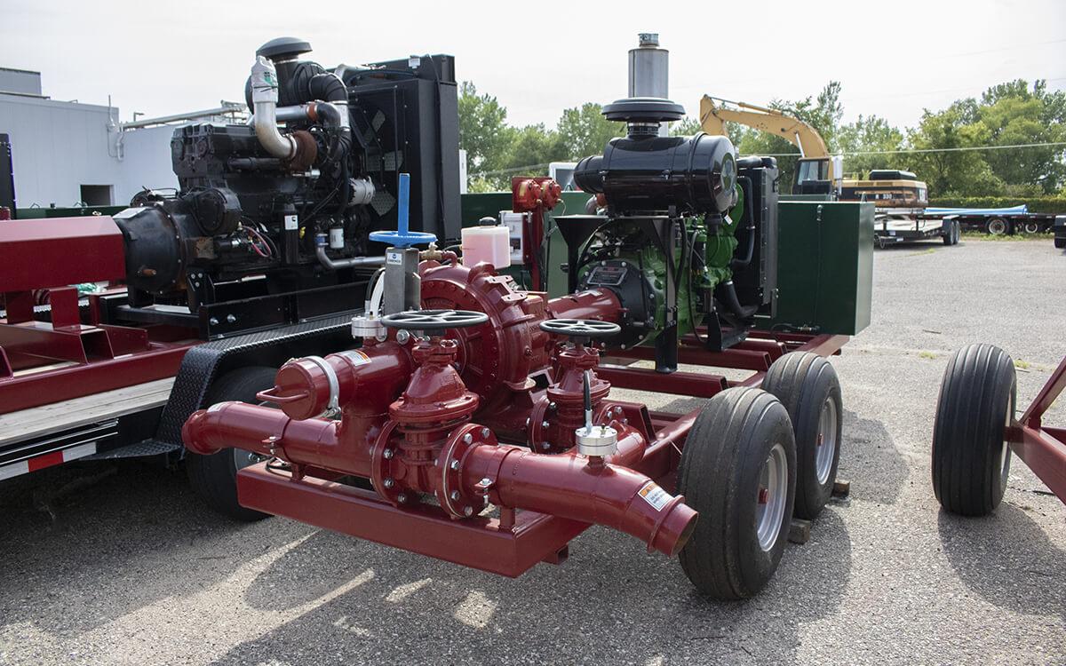 Hydro Engineering Liquid Manure Pumping Station