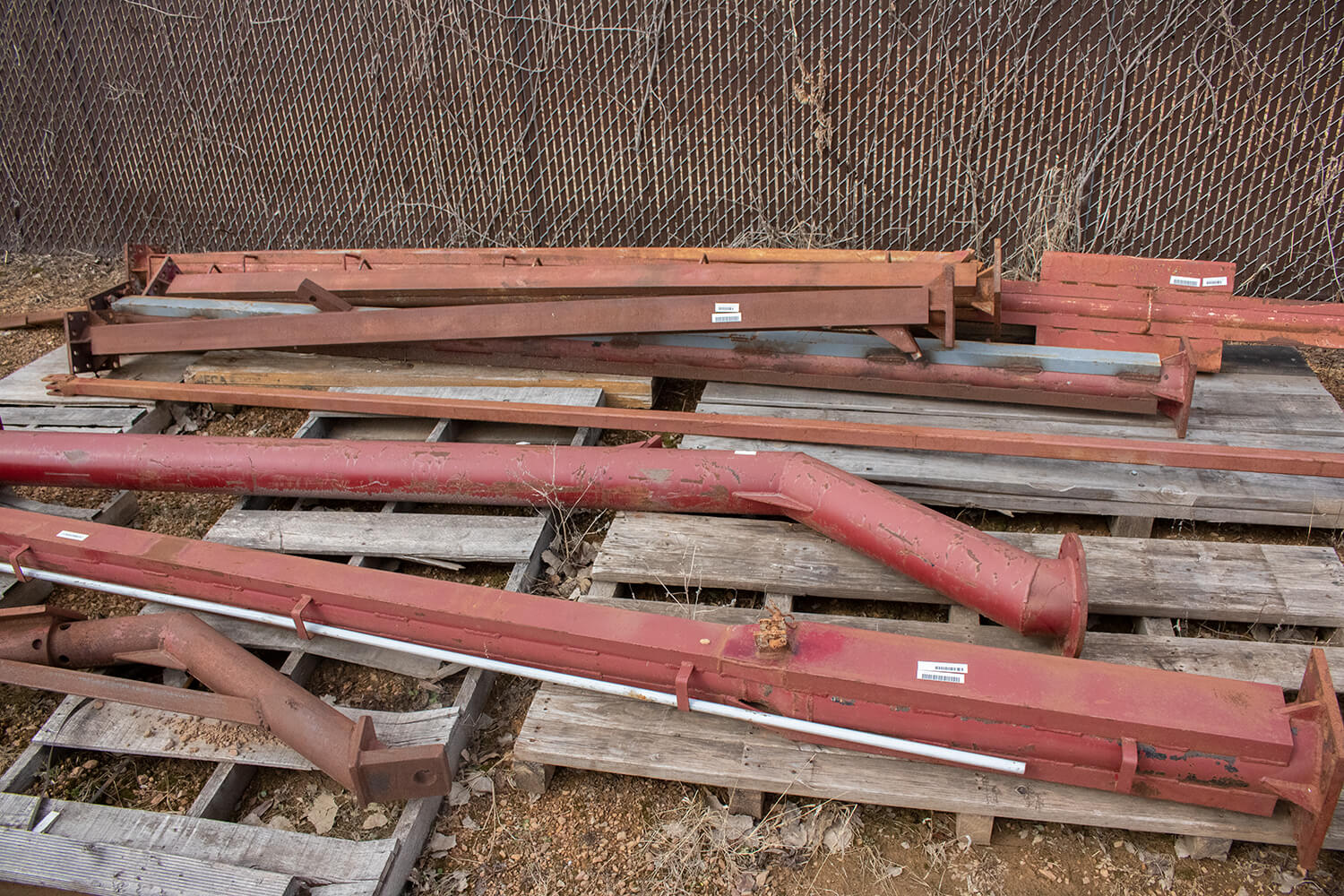 Used Hydro Engineering Toolbar Swing Tubes