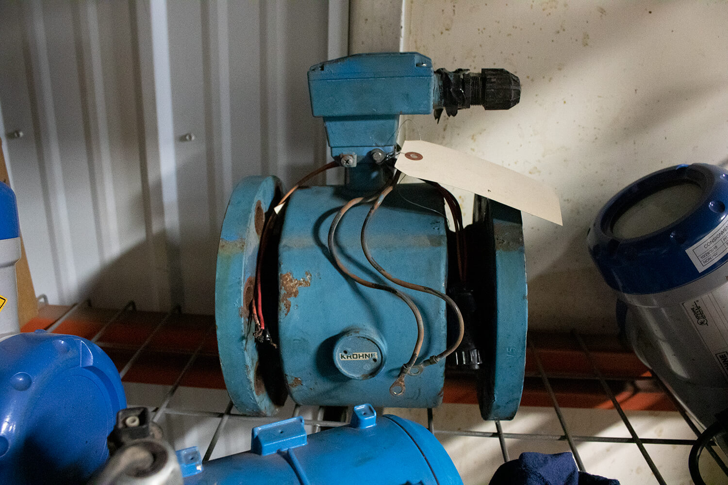 "Used 4"" Krohne Flow Meter Tube"