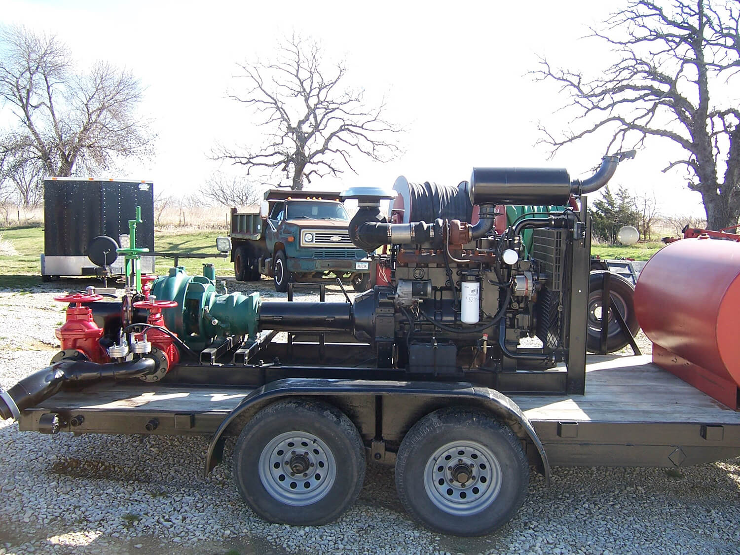 "Used 17"" Pioneer Pump Station"