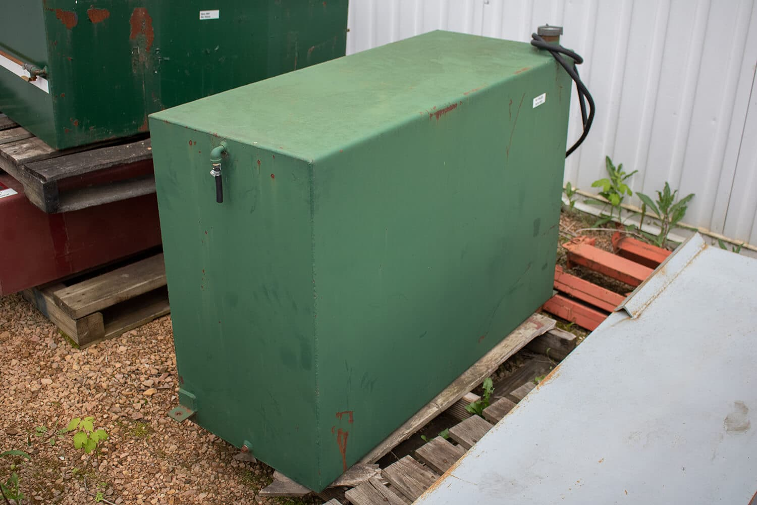 Used Hydro Engineering 200 Gallon Fuel Tank