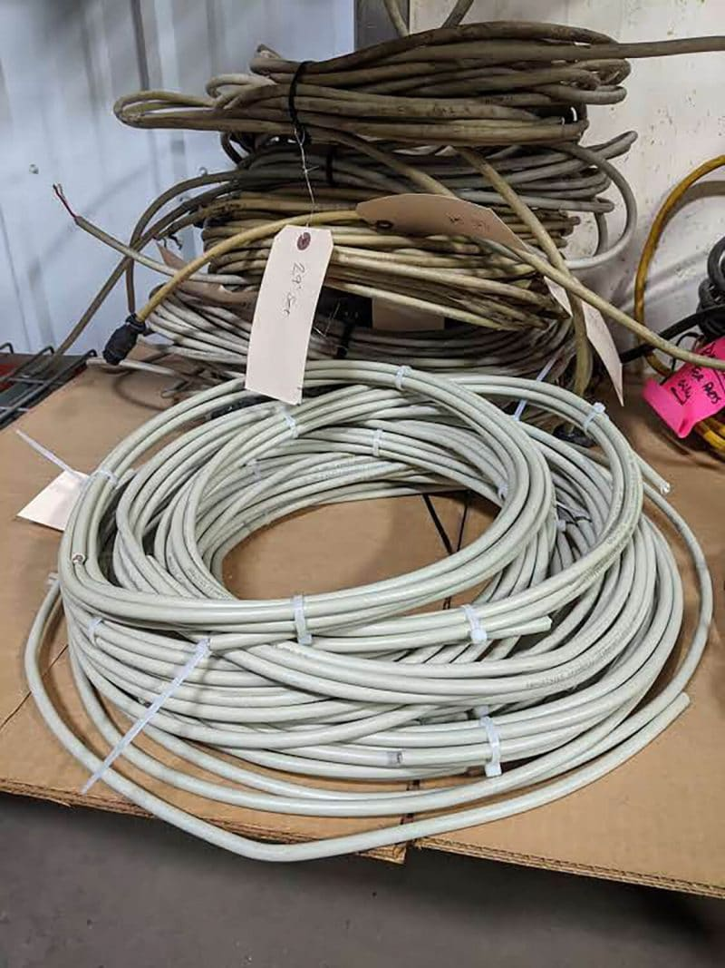 Used Krohne Flow Meter Wire